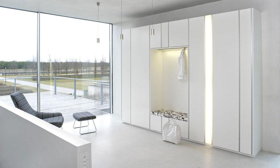 garderoben leicher wohnen interl bke b b italia flexform cassina walter knoll edra. Black Bedroom Furniture Sets. Home Design Ideas