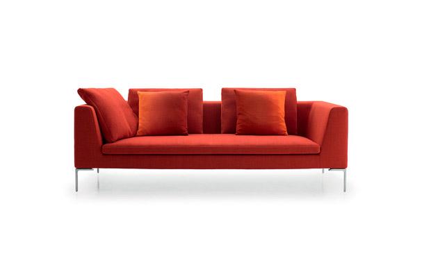 sofa charles von b b italia. Black Bedroom Furniture Sets. Home Design Ideas