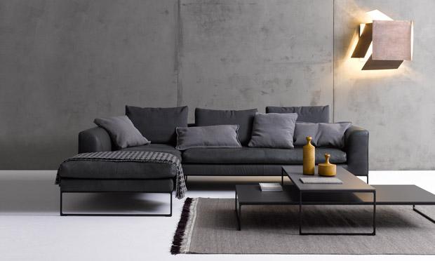 sofa mell und mell lounge von cor. Black Bedroom Furniture Sets. Home Design Ideas