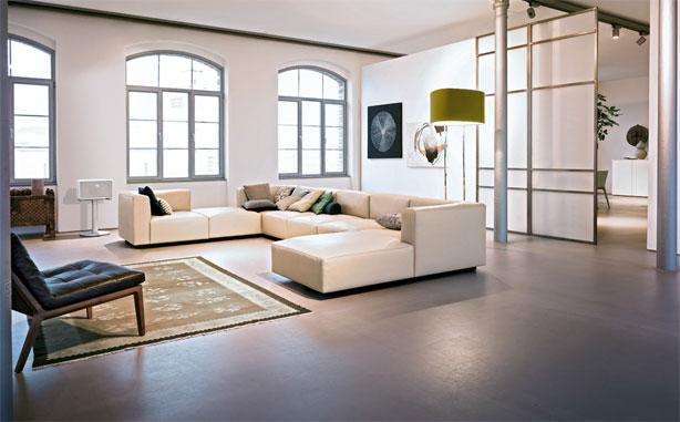 sofa living landscape 750 von walter knoll. Black Bedroom Furniture Sets. Home Design Ideas