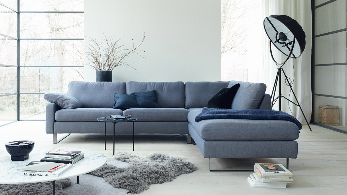 sofa conseta von cor leicher wohnen das premium einrichtungshaus. Black Bedroom Furniture Sets. Home Design Ideas