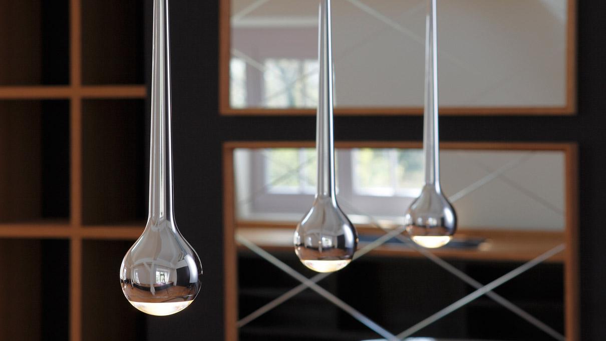 h ngeleuchte falling von tobias grau leicher wohnen. Black Bedroom Furniture Sets. Home Design Ideas