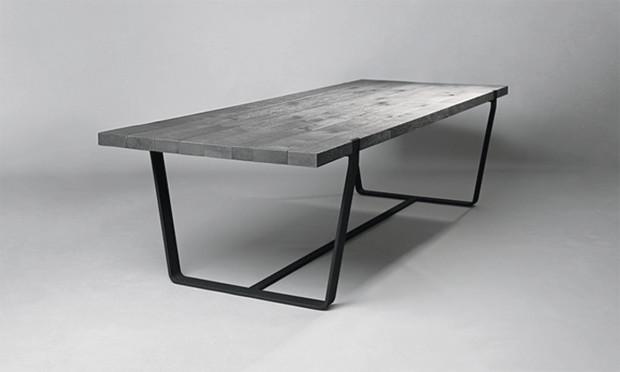 tisch clamp von janua. Black Bedroom Furniture Sets. Home Design Ideas