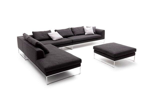 sofa mell und mell lounge von cor leicher wohnen das. Black Bedroom Furniture Sets. Home Design Ideas