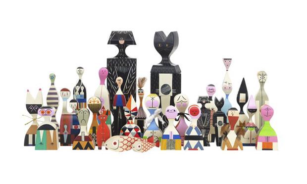 Vitra Wooden-Doll Family